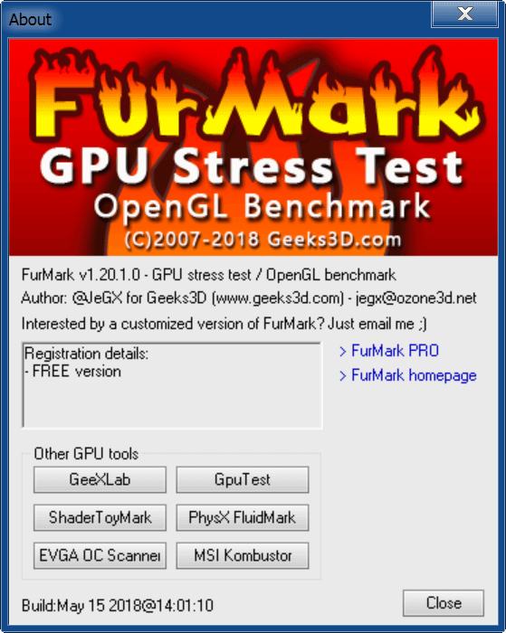 FurMark About